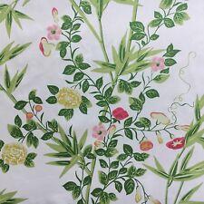 Scalamandre Curtain Fabric JARDIN DE CHINE (SPRING) 0.8m 100% Cotton Design