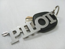 Pilot Stainless Steel Key Chain from Luso Aviation