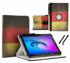 "Schutzhülle für Samsung Galaxy Tab 2 P5110 Tablet Case 10.1"" 360 DE Flagge"