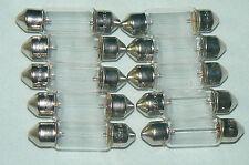 Lot de 10 Ampoules / Navette SV8 5,8 éclairage de plaque OSRAM lampe 12V 7W