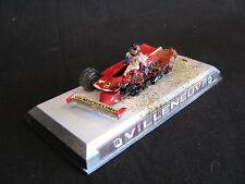 Villa Model Ferrari 312T5 1980 1:43 #2 Villeneuve Crash Imola Diorama (LS)