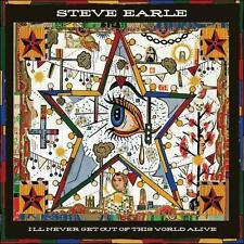 I'll Never Get Out of This World Alive [Digipak] by Steve Earle (CD, Apr-2011, New West (Record Label))