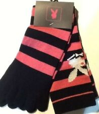 Ladies Official Playboy Toe Socks - One Size