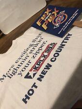 Kplx Radio Dallas Texas Country Early 90's Xl T-Shirt Fan Vintage Original Music
