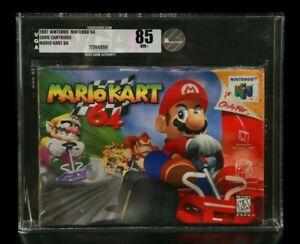 Mario Kart 64 Factory Sealed VGA 1st Print READ DESCRIP New N64 Nintendo 64 WATA