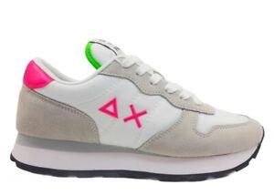 Scarpe da donna SUN 68 ALLY Z31201 sneakers basse casual sportive comode bianco