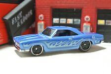 Hot Wheels '68 Plymouth Barracuda Formula 5 Loose - 1:64 - Exclusive - Blue