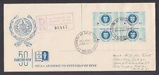 South Africa Sc 219, 1959 Academy of Science & Art Registered Cover Stellenbosch