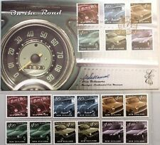 NEUSEELAND 2000 1836-41 + Klb 1651-56 LIMITED EDITION Cars Autos VW Ford Toyota