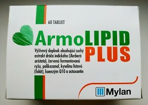ARMOLIPID Plus 60 Tablets - Helps to Control Cholesterol and Triacylglycerols