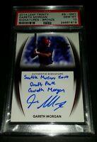 2014 Leaf Trinity #A-GMI- Gareth Morgan Autographed Rookie Card! PSA GEM MINT 10