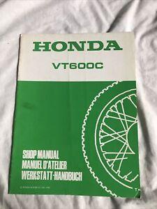 HONDA VT600C WORKSHOP MANUAL ADDENDUM