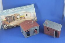 Plasticville - O-O27 - #1627-100 Hobo Shacks - Reverse Colors - EXCELLENT Cond.