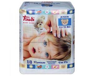 Trudi Baby Care Pannolini Dry Fit Junior 11 - 25 kg Offerta 6 Pacchi