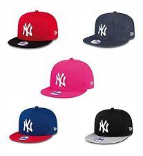 New Era Kids 9Fifty Snapback Basecap NY - verstellbar - gerader Schirm 50 - 55cm