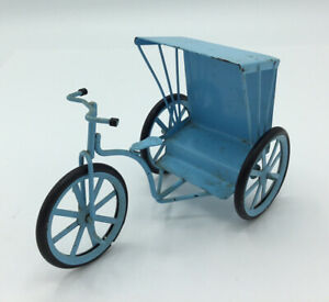 Dolls House Blue Tricycle
