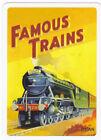 Flying Scotsman Steam Train.single playing Card