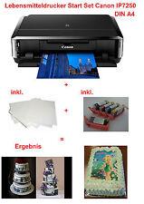 Lebensmittel Drucker Lebensmitteldrucker DIN A4 Farbdrucker für Tortenaufleger