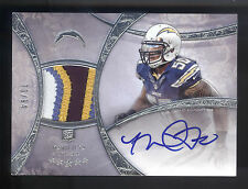2013 Topps Five Star #108 Manti Te'o 4 Color Patch On Card Autograph RC #70/94