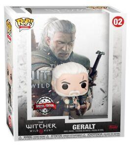 The Witcher 3: Wild Hunt - Geralt Funko Pop! Cover ***DECEMBER PRE-ORDER***
