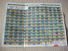 Paladin's Quest Spiel Game Karte Map Super Nintendo SNES US NTSC RPG Enix
