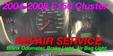 REPAIR 2004 Ford F-150 Instrument Gauge Cluster Odometer + Brake + Airbag Light