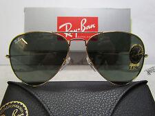 Ray-Ban 3025 Aviator L0205 58/14 occhiale da sole, NUOVO ORIGINALE CON GARANZIA