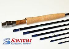 9' 7 PC 5/6 WT TRAVEL FLY ROD WITH HARD CASE