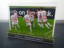 ✺Signed✺ NIKOLAI TOPOR-STANLEY Photo & Frame Western Sydney Wanderers Jersey