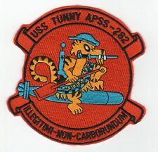 USS Tunny APSS 282 - Tiger Riding Torpedo BC Patch Cat No C5285