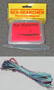 SEA SEARCHER recovery magnet with 10m lanyard  MAG001L