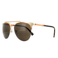 25a13b60096 Versace Sunglasses 2181 125273 Orange Pale Gold Brown