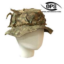 OPS / UR-TACTICAL, REVERSIBLE GHILLIE BOONIE HAT IN PENCOTT BADLANDS