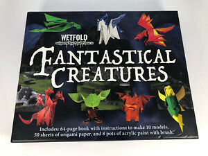 Wetfold Fantastical Creatures Oragami Set By Paul Frasco: Used Once