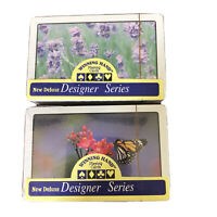 Lot Of 2 Mixed Collectible Winning Hand Designer Series Playing Cards New B