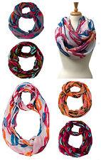 US Wholesale-12PC-AssortedColor Women's Infinity Soft Scarves #6017