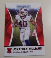 2016 PANINI ROOKIES AND STARS #157 JONATHAN WILLIAMS ROOKIE RED PARALLEL CARD