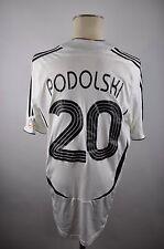 Deutschland Trikot 2006 Gr. L #20 Podolski Adidas WM Jersey Home DFB EM Germany