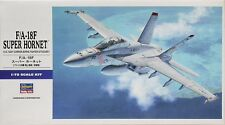 HASEGAWA 1:72 KIT F/A-18F SUPER HORNET US NAVY CARRIER-BORNE FIGHTER  ART 00548
