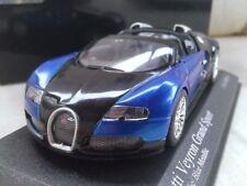Voitures, camions et fourgons miniatures bleus pour Bugatti 1:43