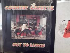 COUNTRY GAZETTE OUT TO LUNCH LP IN SHRINK ON FLYING FISH  RECORDS