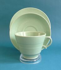 Wood's Ware 'Beryl' Design Large Tea Cup, Saucer and Side Plate Trio