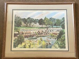 "Donald F. Mitchell ""The Challenge"" Golf Course Print - Austin, Texas"