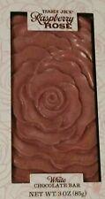 NEW IN BOX! Trader Joe's White Chocolate Raspberry Rose Product of Belgium