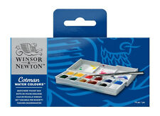Winsor & Newton Cotman Sketcher's Pocket Box 12 Half Pans Watercolour Paint Set