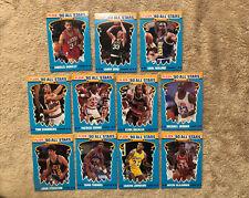 1990-91 Fleer Basketball All- Stars (12 Card) Set.. #5 Michael Jordan !!!
