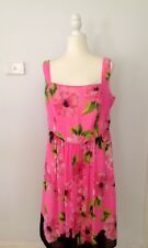 CITY CHIC 'Pink Poppy' Summer Dress - Size S - New With Tags - ORP $129