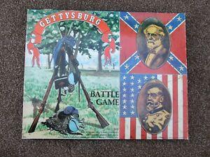 GETTYSBURG Civil War Battle Game - Avalon Hill 1977 issue No 501 - Incomplete