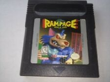 Rampage World Tour Game for Gameboy Color Cartridge only