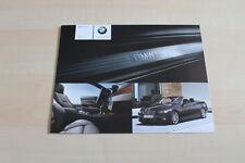 78428) BMW 3er Reihe Cabrio E92 - individual - Prospekt 02/2007